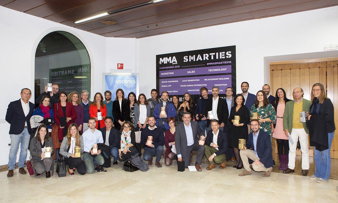Foto de Ganadores Premios Smarties 2018