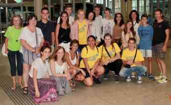 SD Eibar Fundazioa apoya la difusión de becas para jóvenes a través de la ONG AFS Intercultura