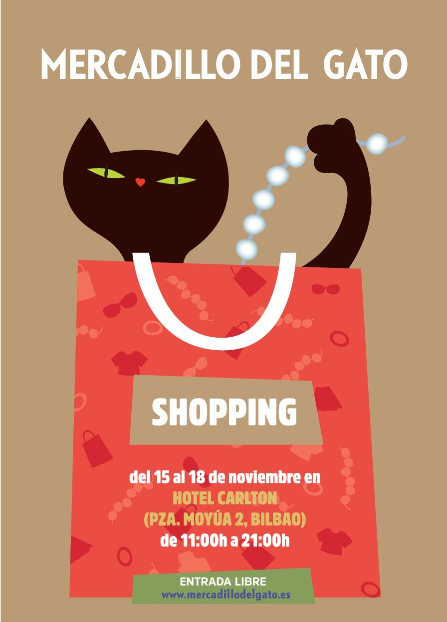 El Mercadillo del Gato vuelve a Bilbao por Navidad