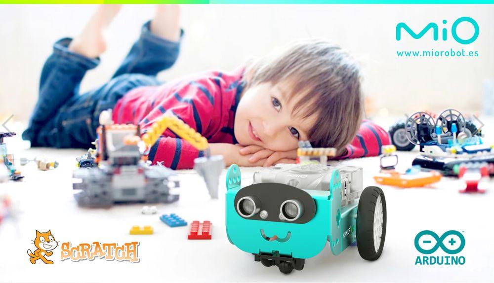 Fotografia Nuevo robot Mio, la alternativa al mBot de Makeblock