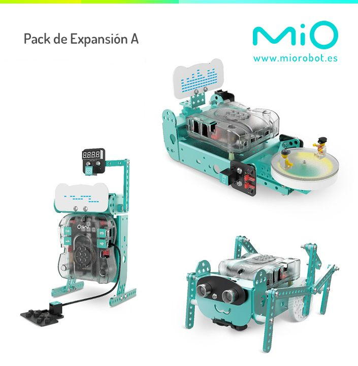 Fotografia Pack de Expansión A para Mio robot