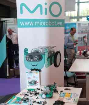 Foto de Mio robot en OpenExpo Europe