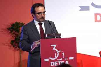 Foto de Intervención de Arturo Coloma en el 30 aniversario de DETEA