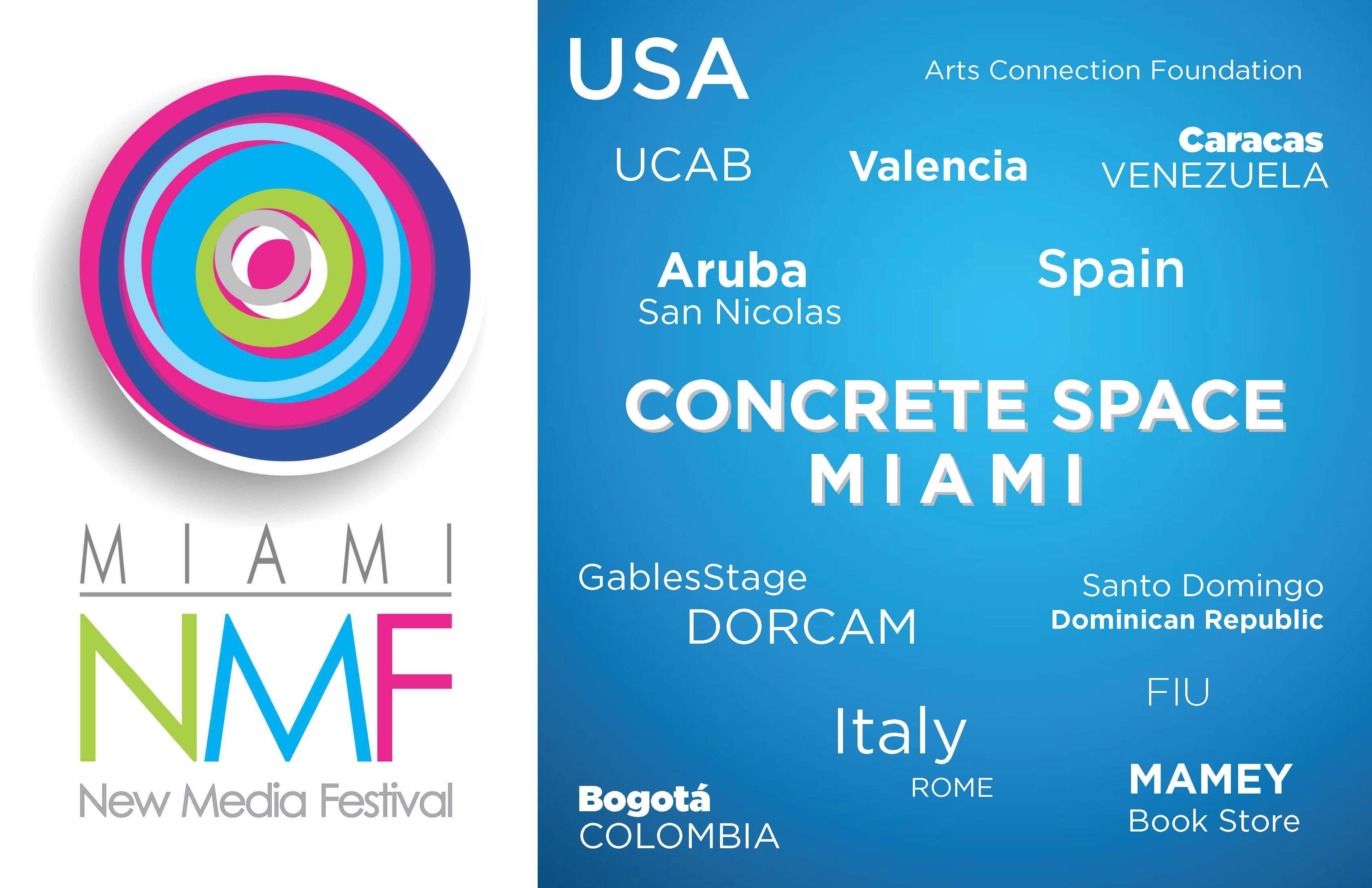 El Miami New Media Festival se exhibe en el Concrete Space