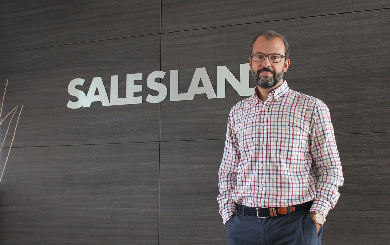 Foto de Fernando García-Lahiguera, CEO del Grupo Salesland