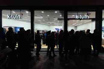Tienda K-tuin durante pasado Black Friday