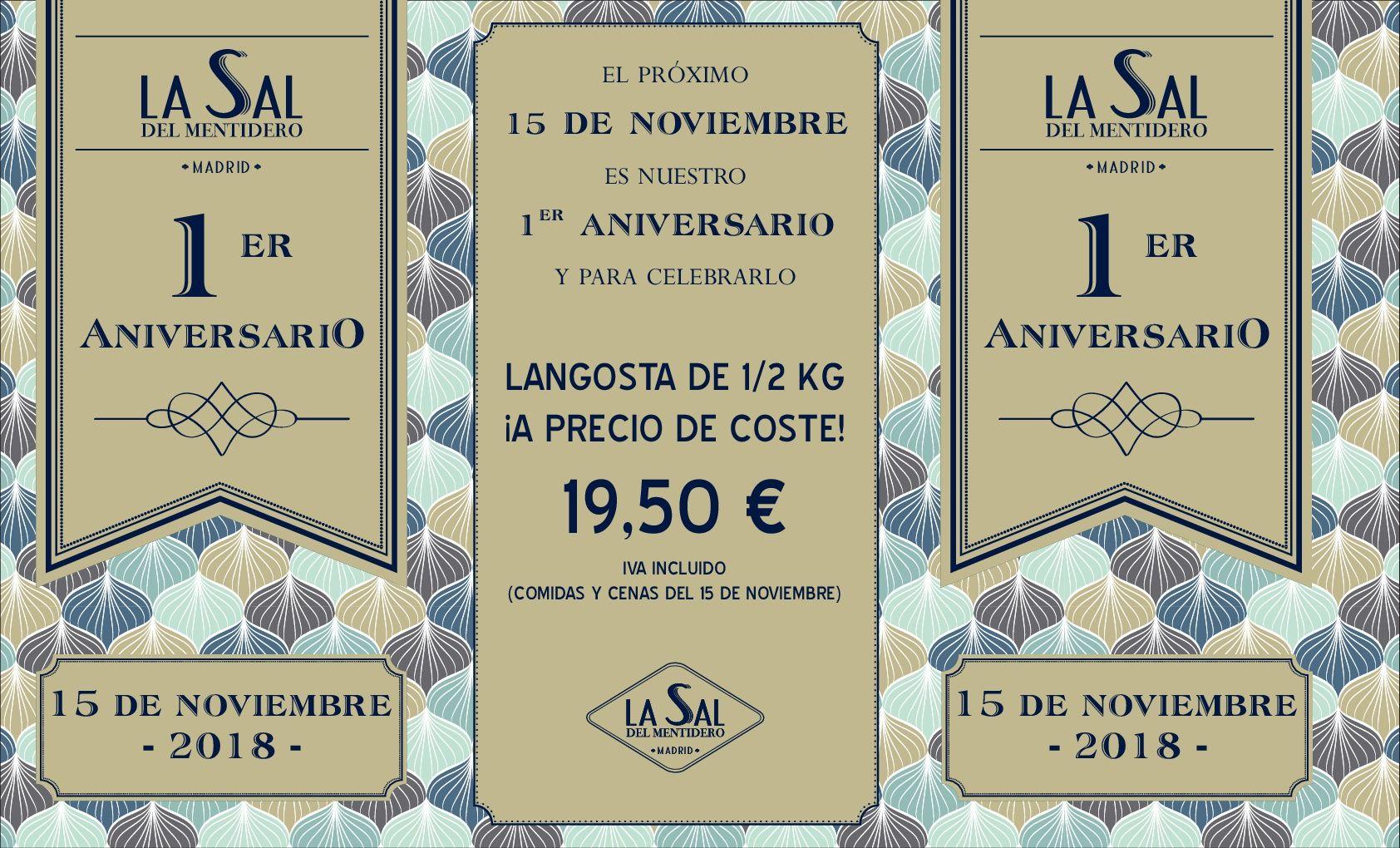 La Sal del Mentidero celebra su primer aniversario