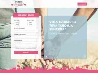Foto de Web Cites a Cegues català