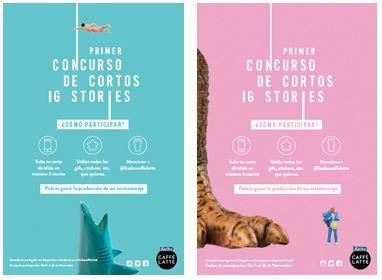 Fotografia Concurso de Cortos en Instagram Stories de Kaiku Caffè
