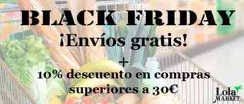 Lola market se une al Black Friday
