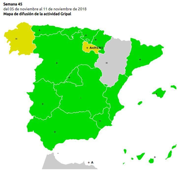 La gripe ya está aquí: Eltiempo.es analiza las zonas que ya están afectadas