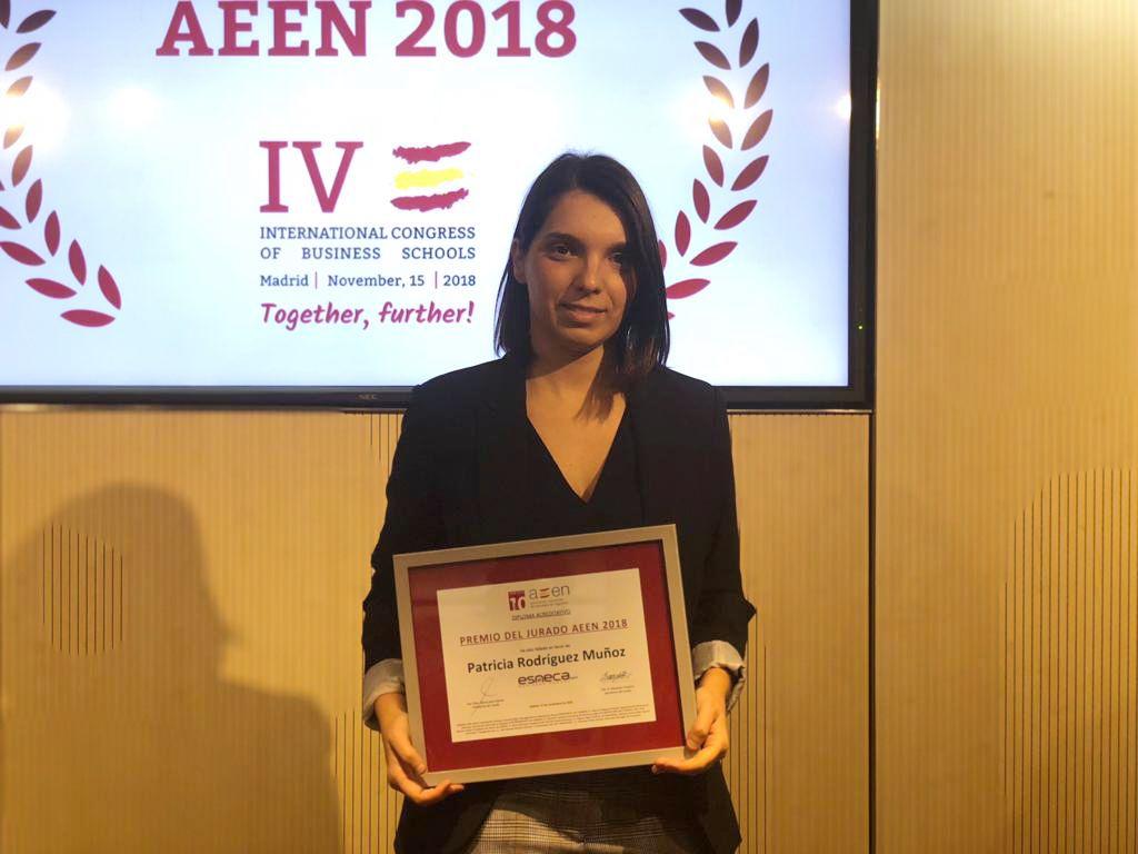 ESNECA, galardonada en el IV Congreso Internacional de Escuelas de Negocios