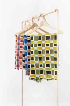 Foto de Fulares de la marca Moniquilla, presente en el Xmas Pop Up