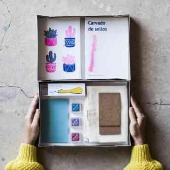 Foto de Kit de fabricación de sellos de La Fábrica de Texturas, un