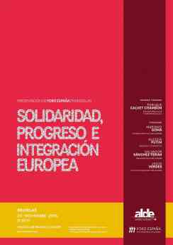 Foro España se presenta en el Parlamento Europeo para defender la Unidad de España y Europa