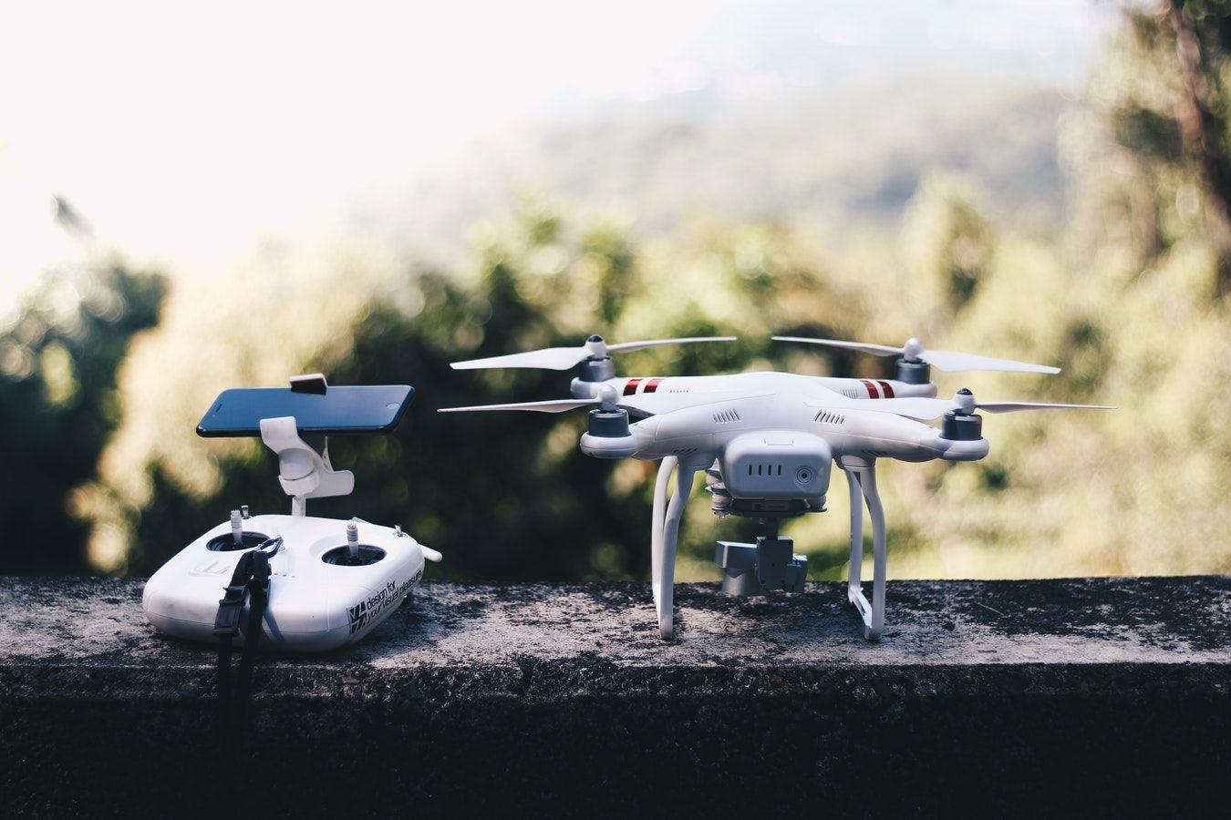 Fotografia Jornadas para pilotar drones