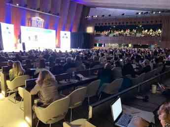 Foto de Sede de la Unesco en París - Día Mundial de la Acupuntura