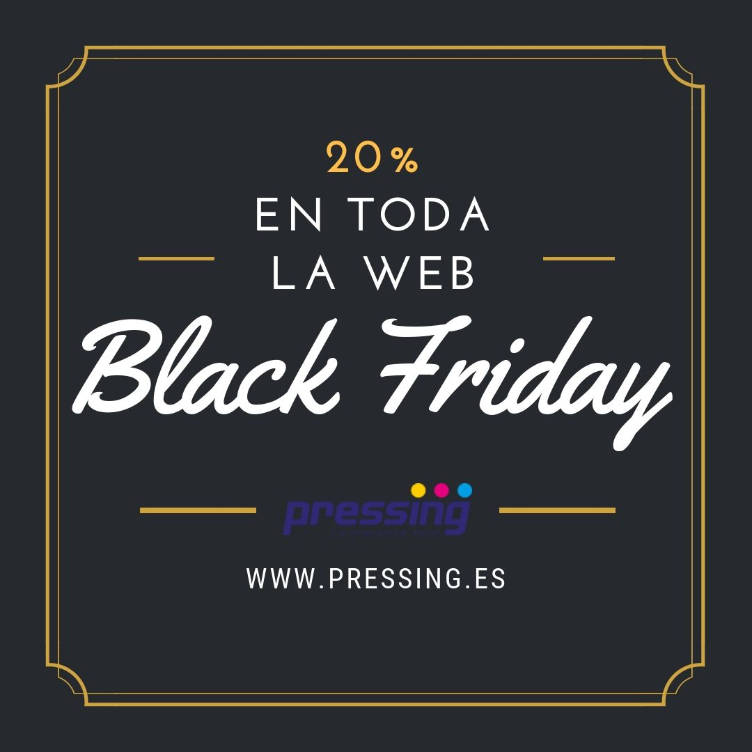 Foto de Pressing celebra su primer Black Friday con descuentos en su