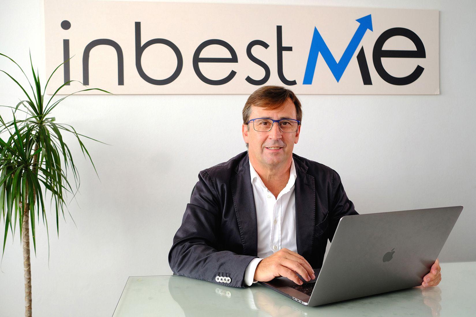 Foto de Jordi Mercader, CEO de inbestMe