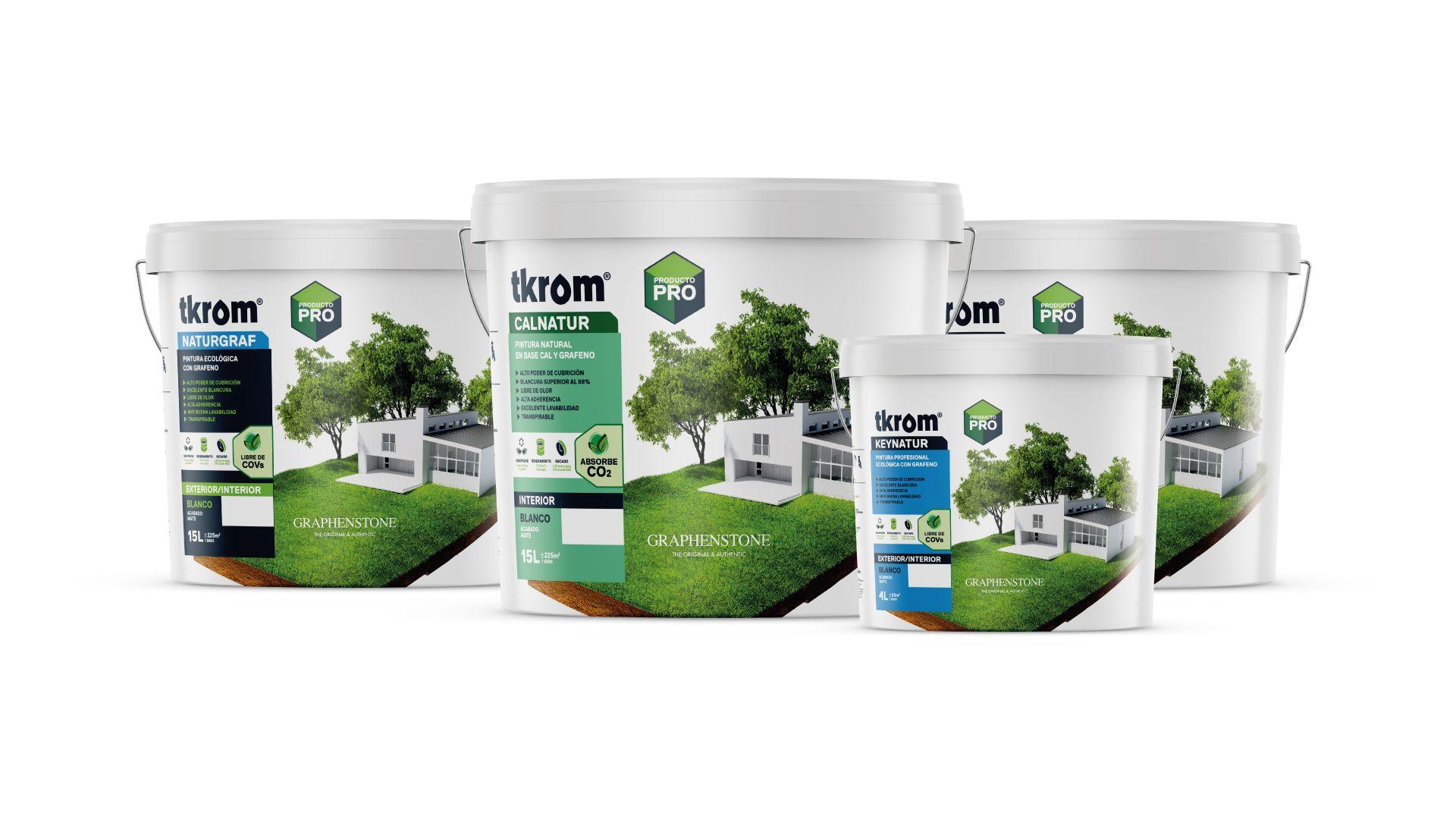Fotografia tkrom graphenstone, la pintura que absorbe CO2