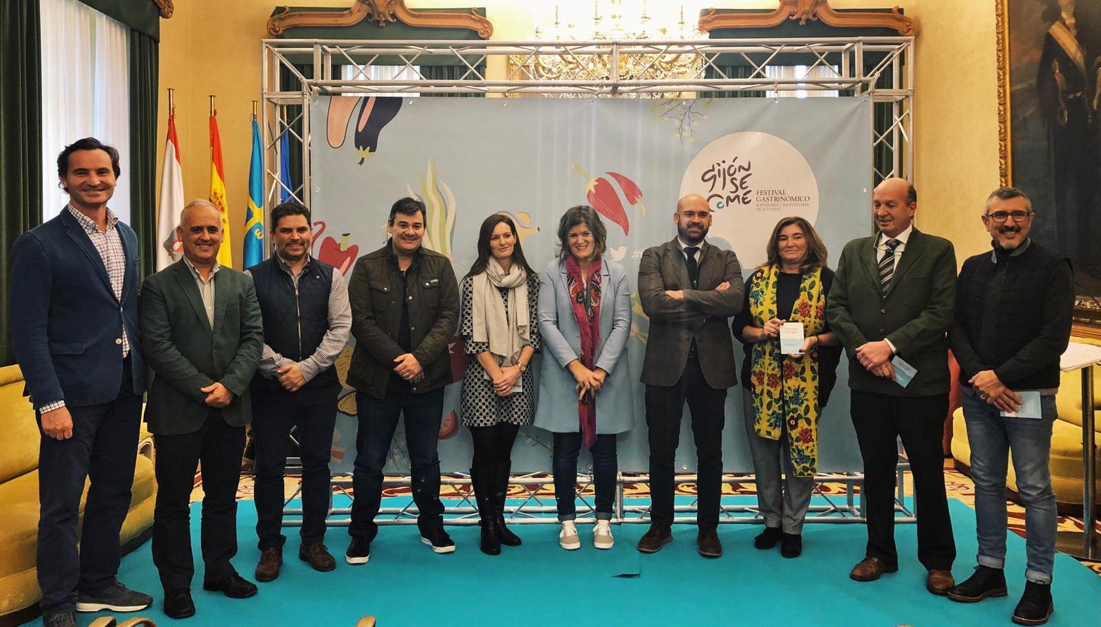 Foto de Presentación a medios del festival GijónSeCome 2018