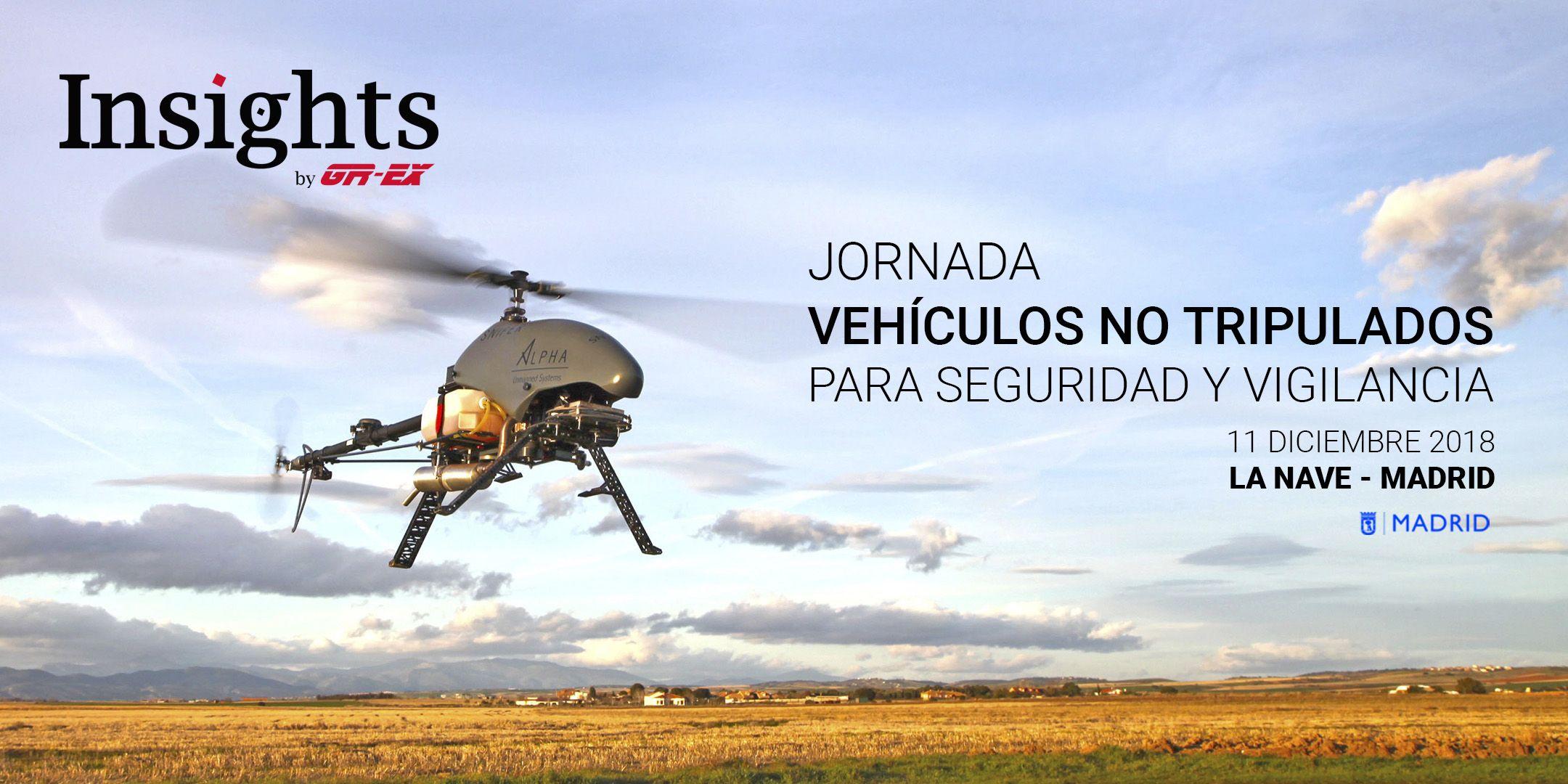 Foto de Jornada Vehículos no tripulados para Seguridad y Vigilancia