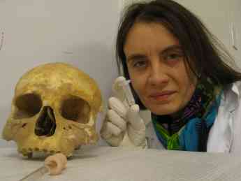 Olalla Costas, investigadora USC
