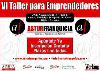 Taller para Emprendedores en AsturFranquicia 2018