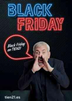TIEN 21 lanza las súper ofertas de su  Gran Semana del Black Friday