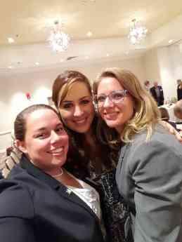 Foto de Chelsea Rider, Núria Querol y April Doherty