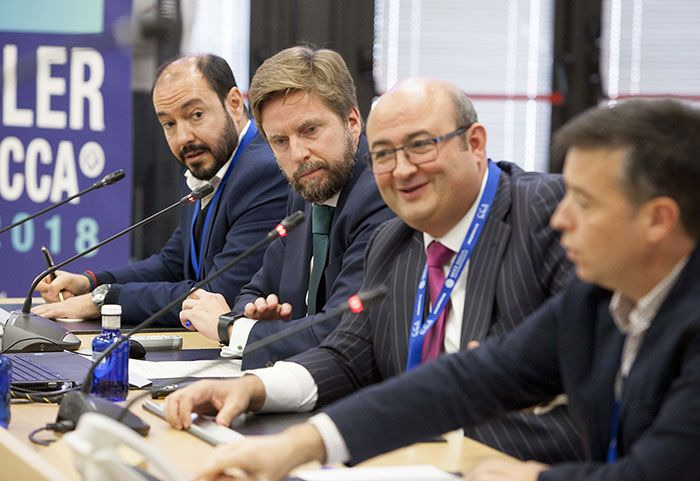 Foto de Panel de expertos del Congreso Controller Centricity 2018