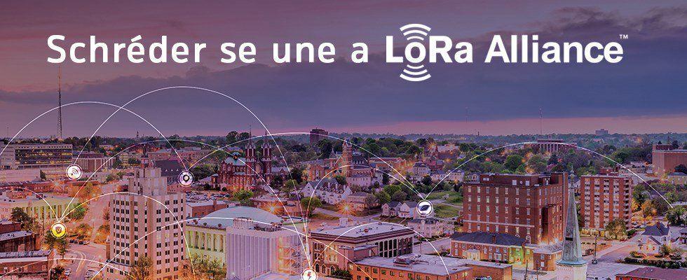 Fotografia Schréder se una a LoRa Alliance™