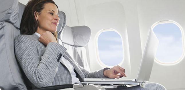 Foto de Wifi en el avión