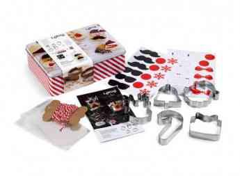 Lékué Kit Cookies Christmas: un regalo navideño para disfrutarlo en familia