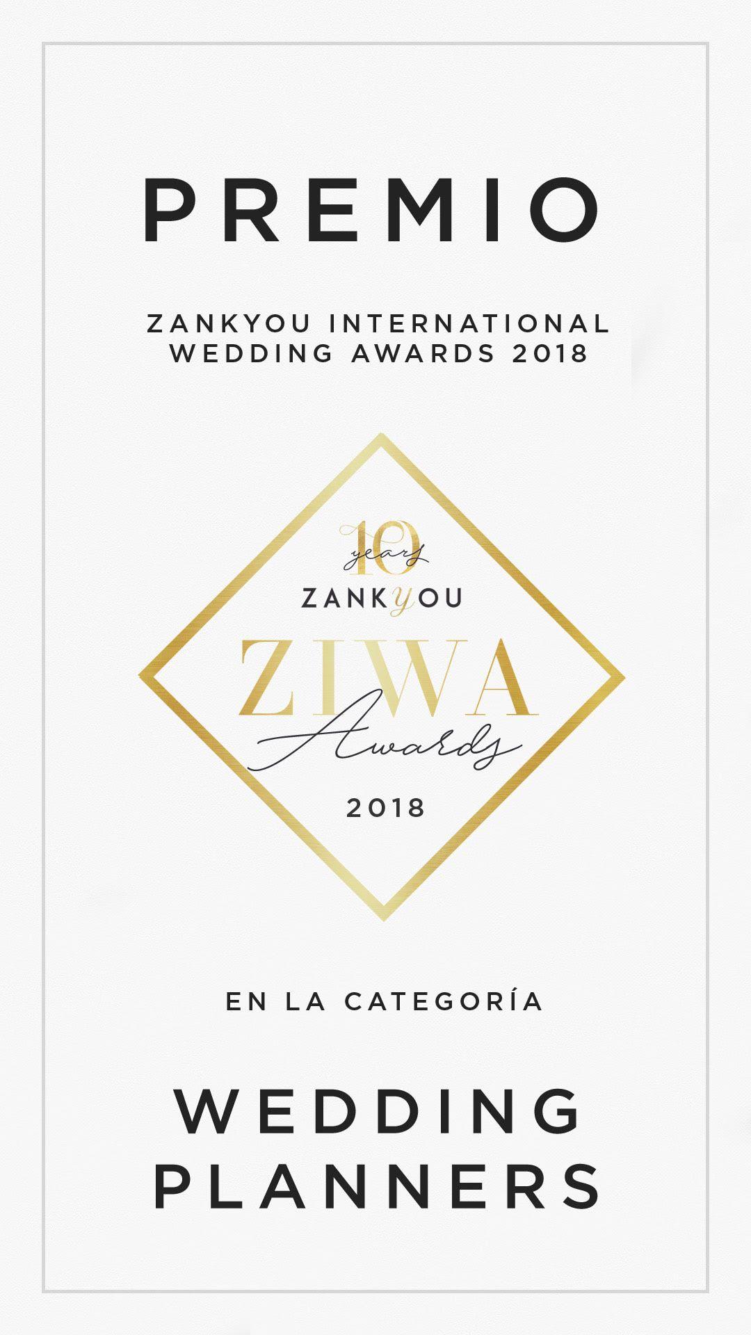Foto de Zankyou International Wedding Awards de 2018