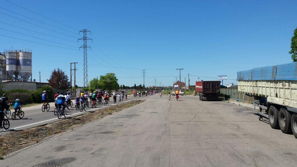 Foto de Carretera sin arcén