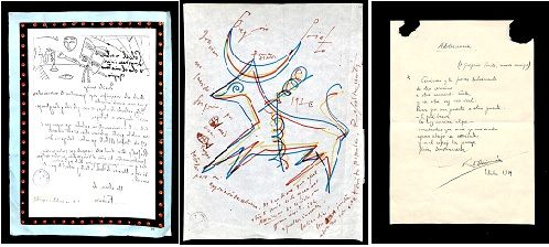 Foto de Cartas de García Lorca, Vicente Aleixandre y Rafael Alberti