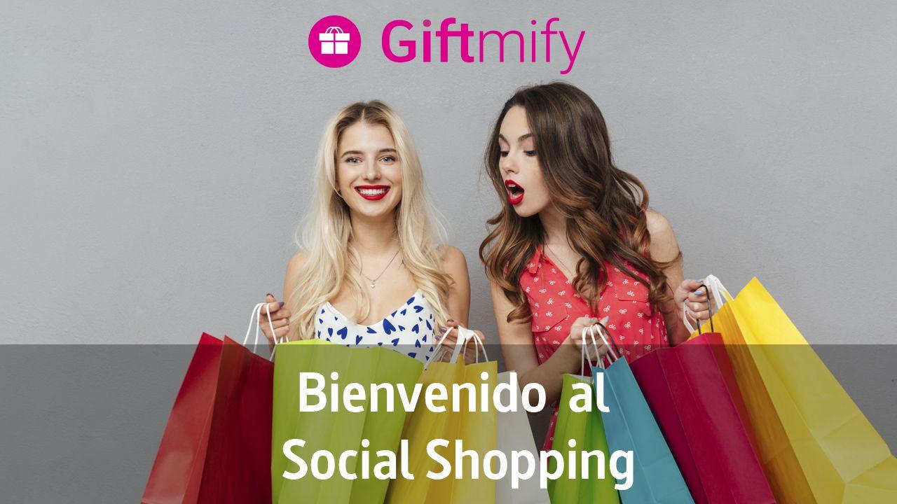 Fotografia Giftmify. Social Shopping para Regalar y Comprar