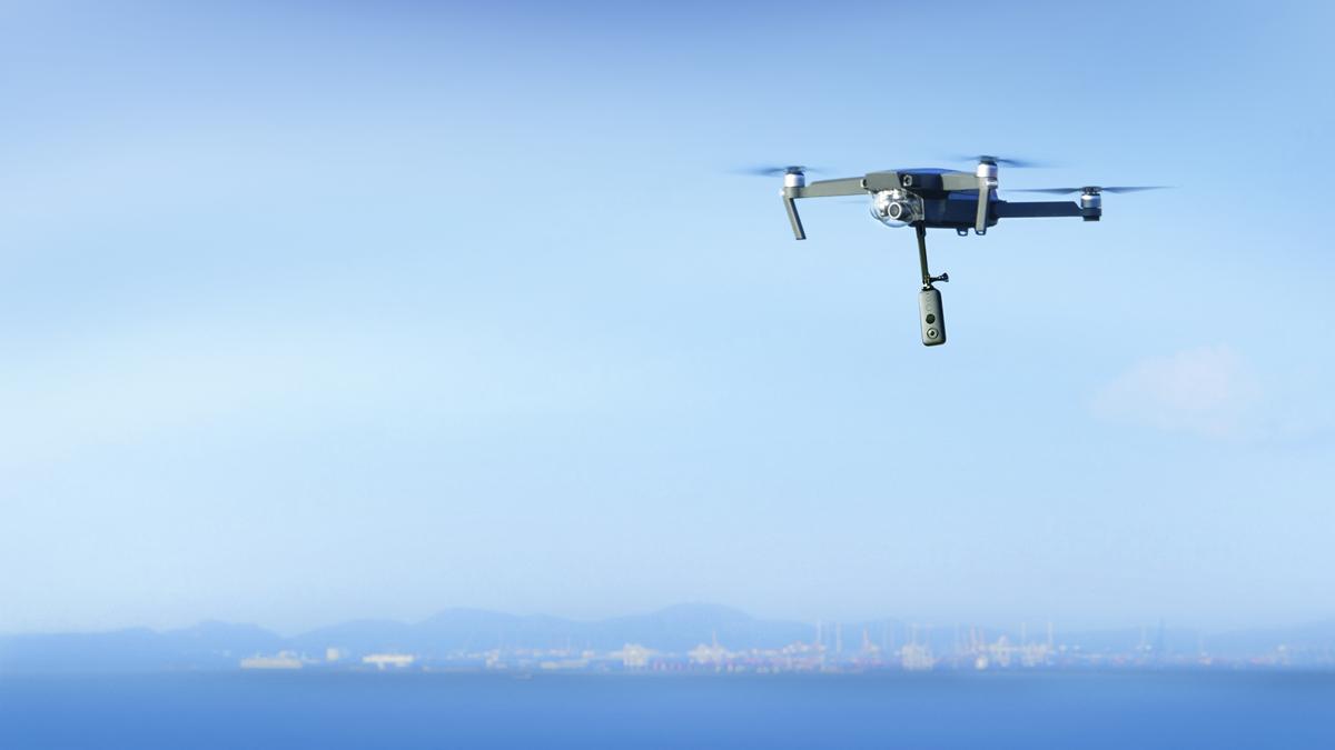 Fotografia Insta360 ONE X drone