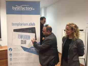 BYTEFACTORY.ES presenta en la Cámara de comercio de Ponferrada TEMPLARIUM.CLUB