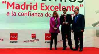 DHL Express galardonada en los XII Premios Madrid Excelente a la Confianza de los Clientes