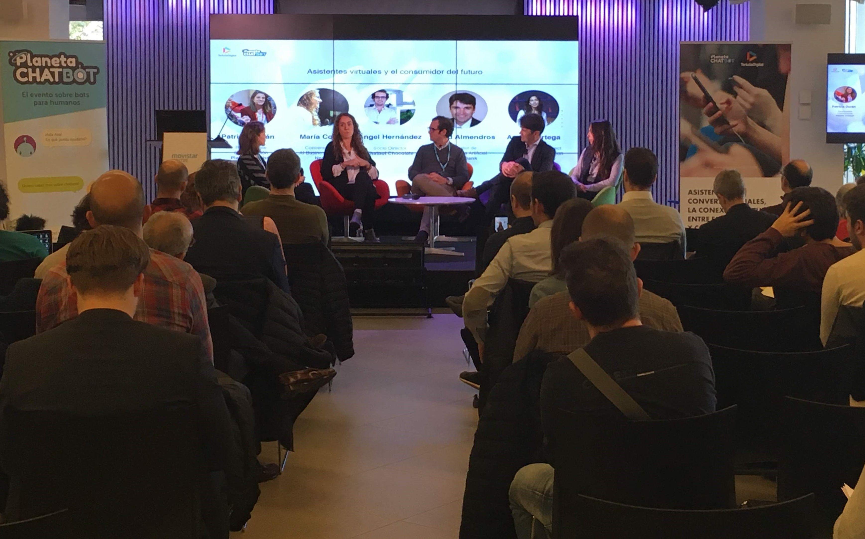 Planeta Chatbot y Tertulia Digital organizaron ayer el segundo Planeta Chatbot Day en Barcelona