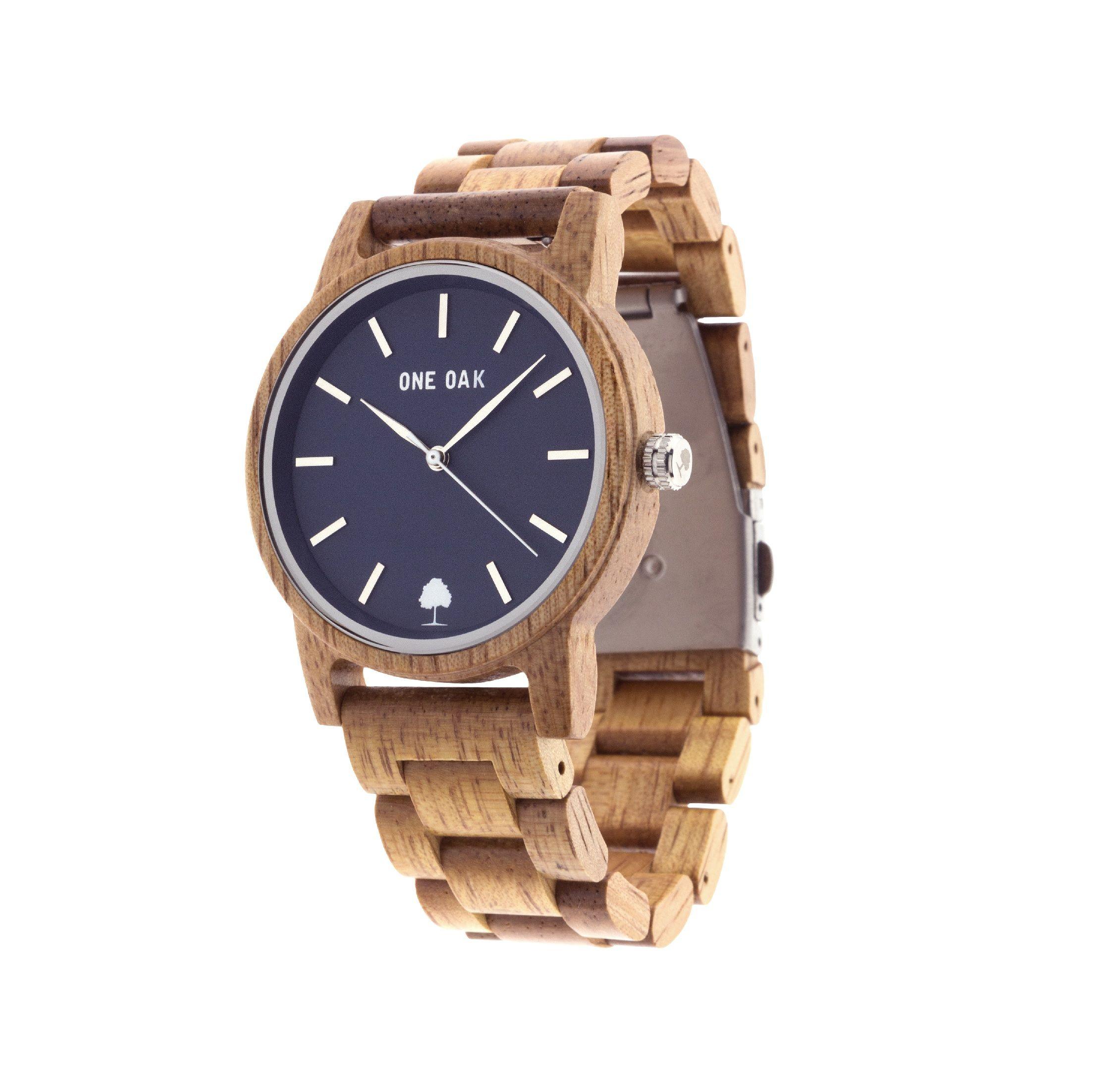 Foto de Reloj de madera One Oak