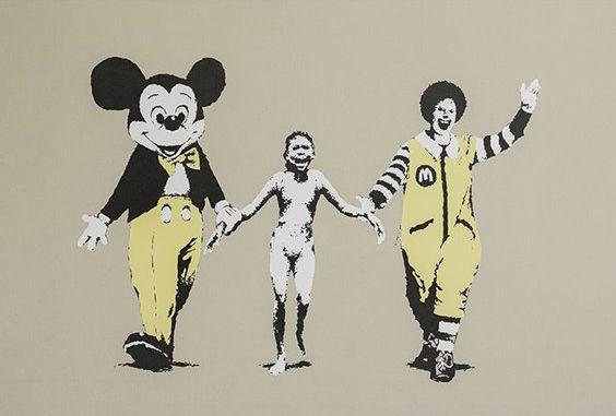 Fotografia Banksy