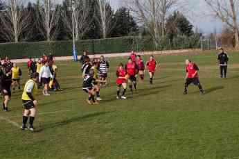 DHL Express patrocina un partido de rugby inclusivo en Valladolid