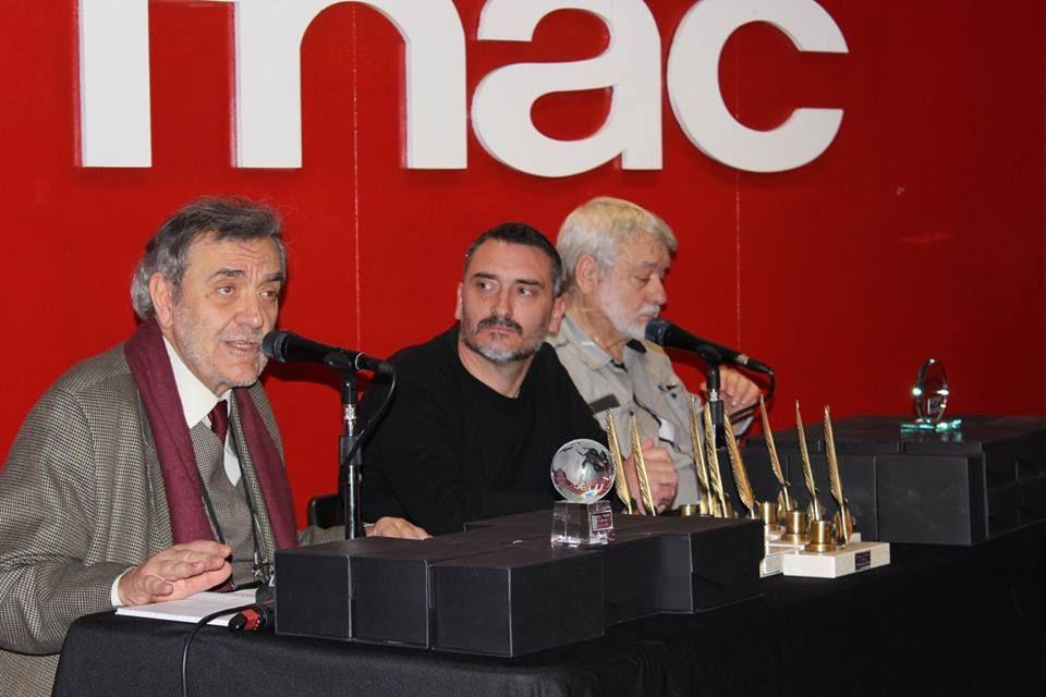 Foto de Emilio Porta, J.D Álvarez e Ignacio Martín Sequeros