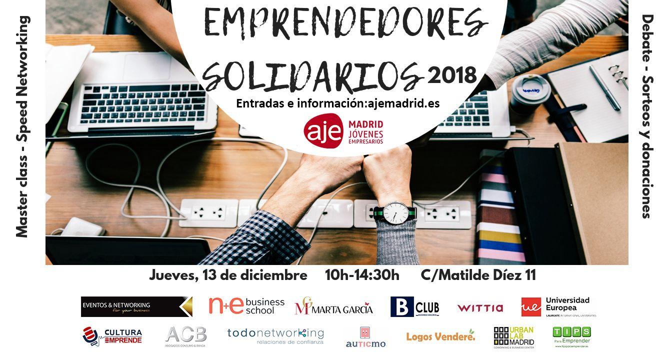 Fotografia Emprendedores Solidario 2018