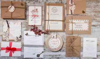 Foto de Invitaciones de boda viajeras