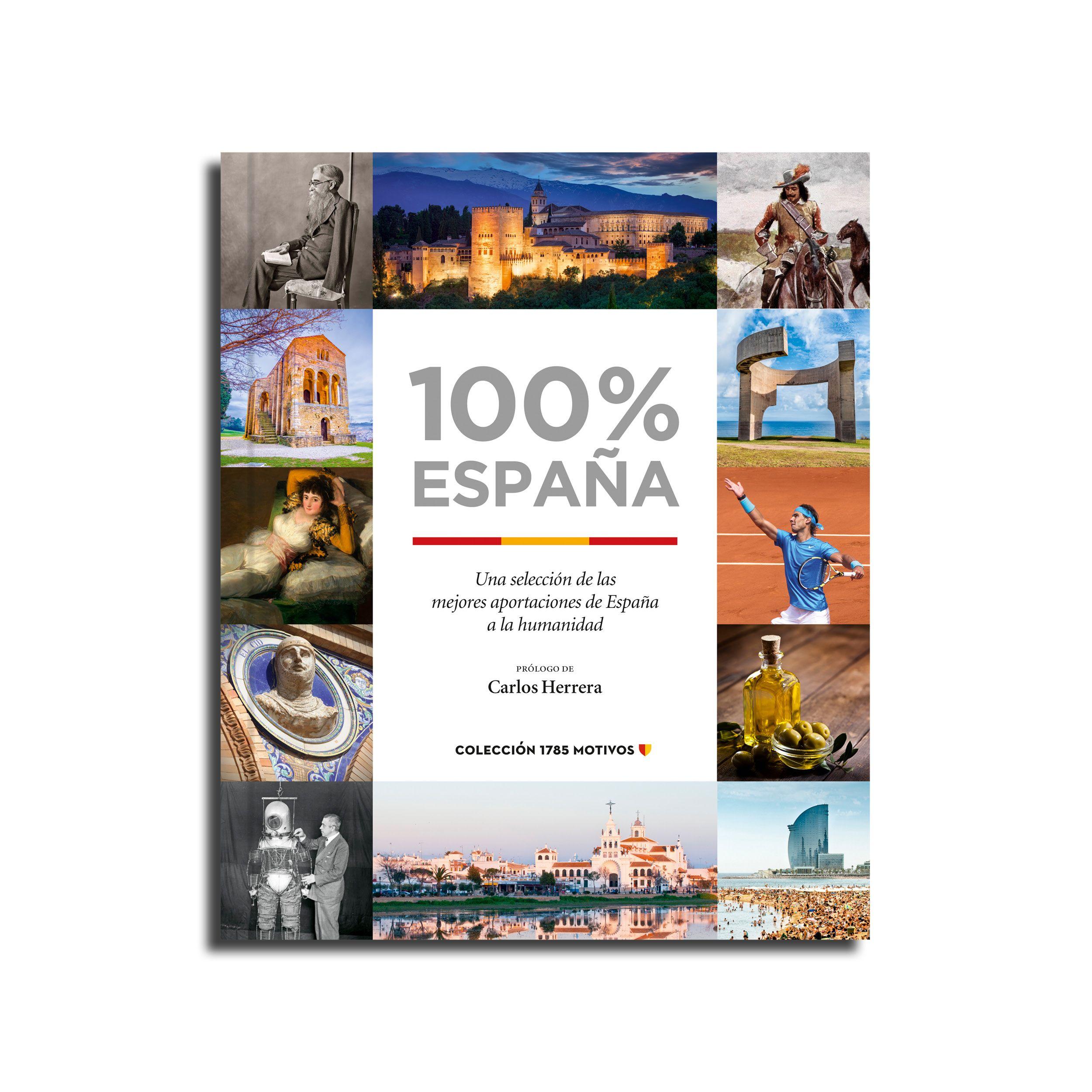 Foto de Portada libro 100% España