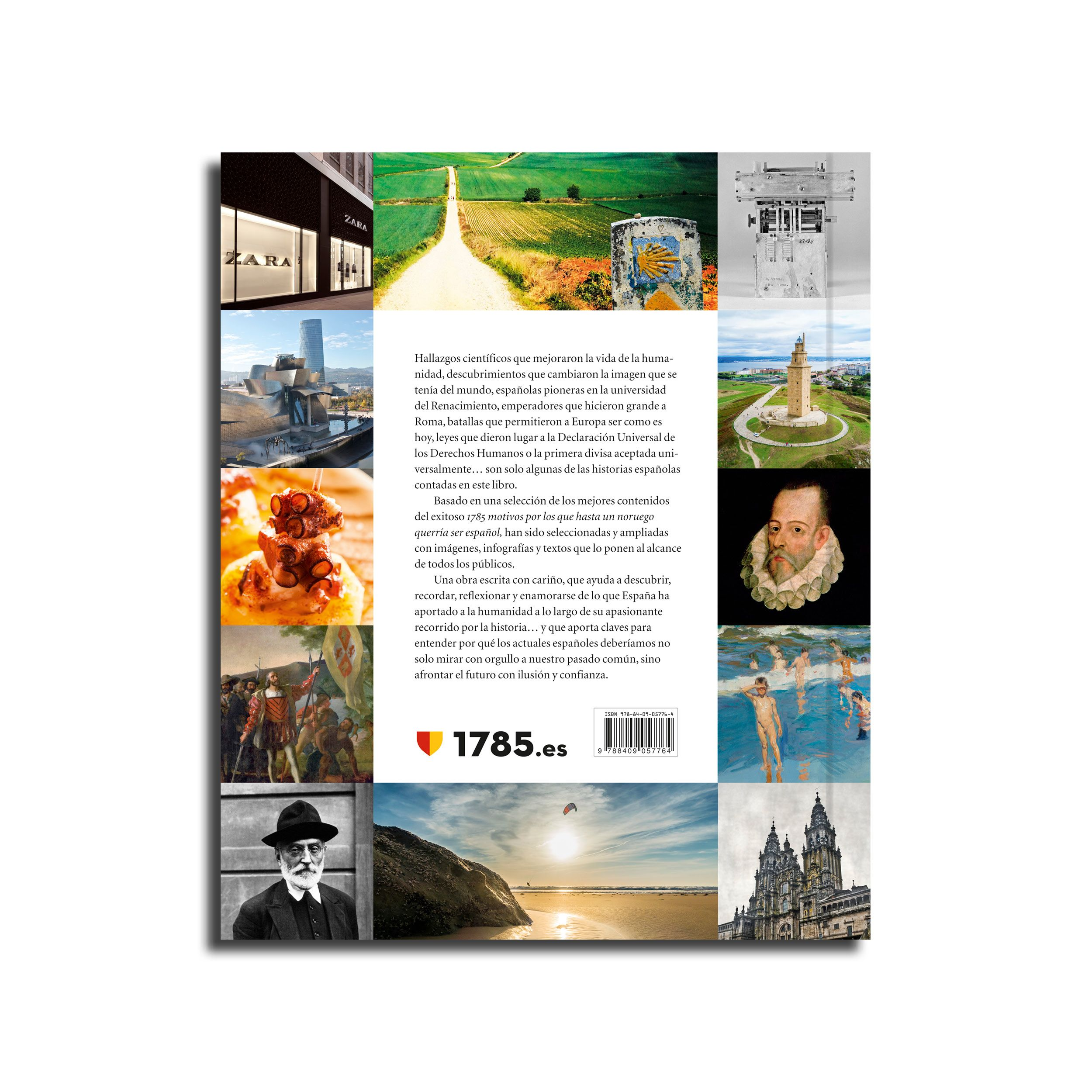 Fotografia Contraportada Libro 100% España